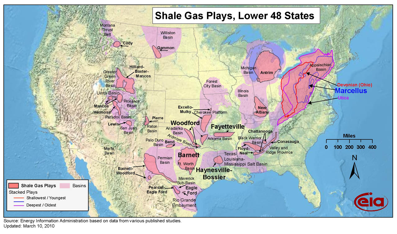 Fracking TheZoo - Map of hydraulic fracturing sites us