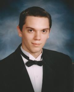 Adam's Graduation Picture