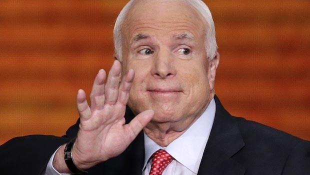 Image result for john mccain smirk