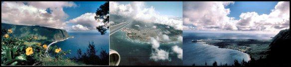 aerial seascape collage