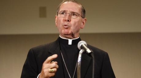 Former L.A. Archbishop John M. Mahony