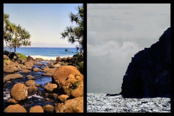 Hanakapiai, Atooi                                     Makapu'u, Woahu