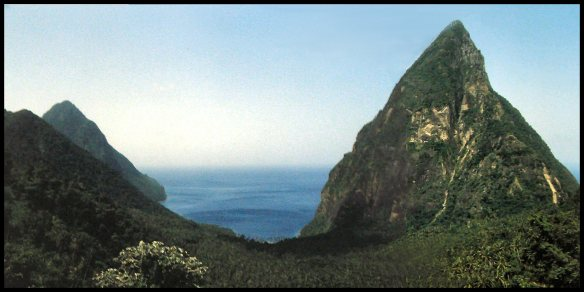 The Pitons; St. Lucia, Lesser Antilles, 1983