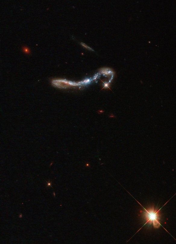 Cinderella's Slipper Galaxy--Image: ESA/Hubble & NASA, M. Hayes