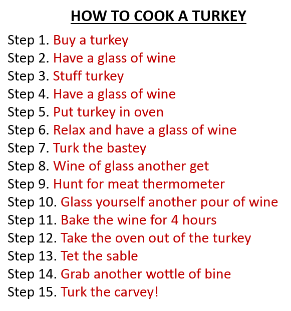 How to Cook A Turkey (from Pampered Chef)