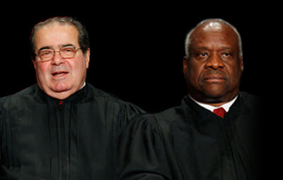 When Supreme Court Justices are connected at the spine