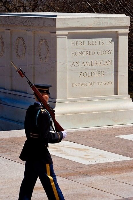 an american soldier