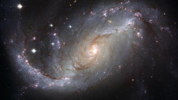 Barred Spiral Galaxy NGC 1672 (NASA/ESA Hubble Heritage Team)