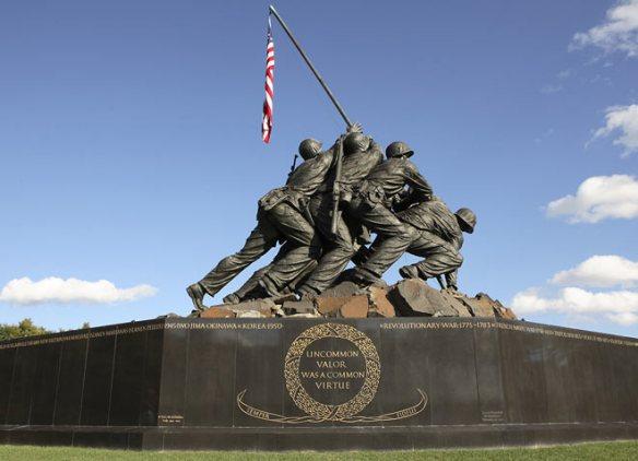 ww2 marines-memorial