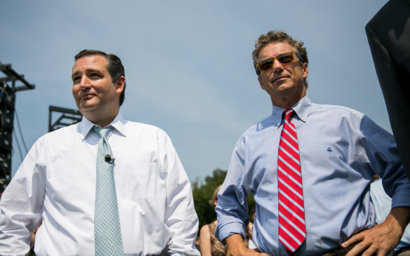 Ted Cruz and Rand Paul