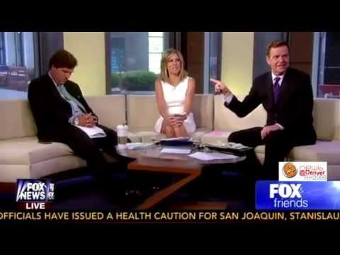 Tucker Carlson goes nappy-byes.