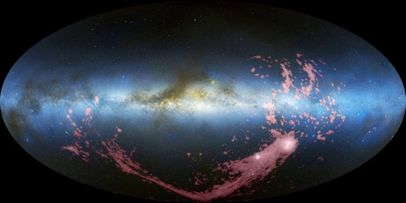 """All-sky-view of Magellanic Stream"""