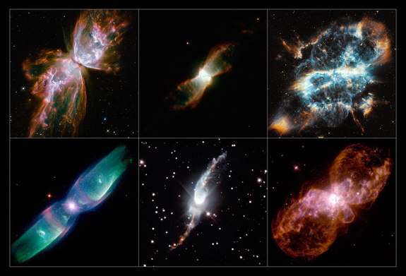 """A Selection of Hubble's planetary nebulae"""