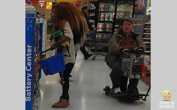 Only in NY - well, not really (photo courtesy of peopleofwalmart.com)