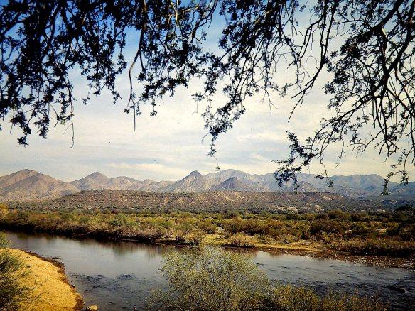 Rio Verde and Mazatzal Mountains, circa 1980
