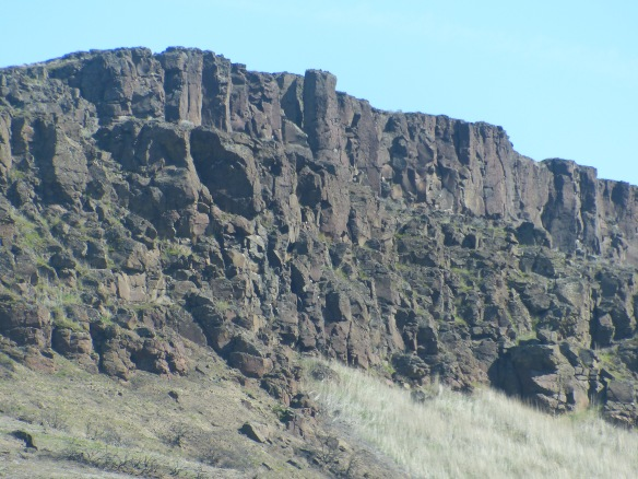 Basalt formation, Columbia River Gorge, Biggs, OR