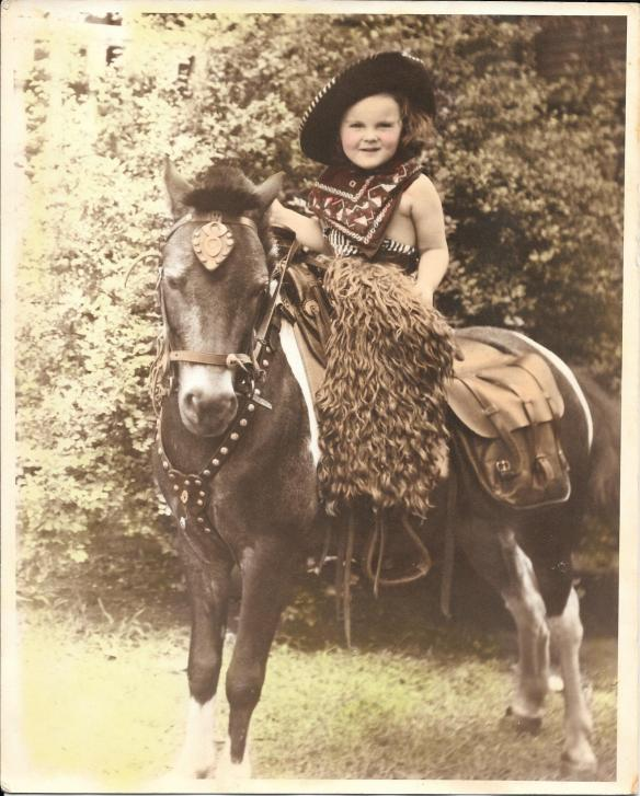 Mom on a pony