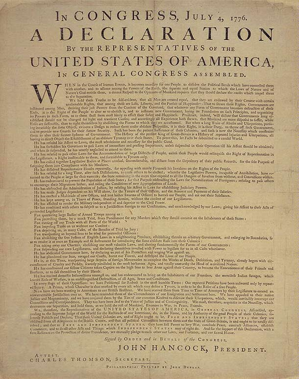 a comparison of the declaration of independence and the declaration of the rights of man Get in-depth analysis of declaration of the rights of man and citizen, with this section on the declaration of independence.