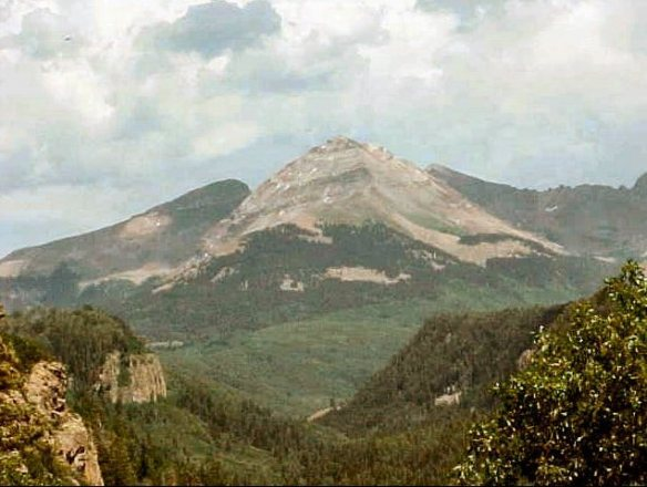 Dibe'Ntsaa -- Navajo Sacred Mountain of the North, San Juan National Forest, Colorado