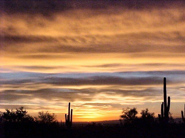 Dec 2005 desert sunrise