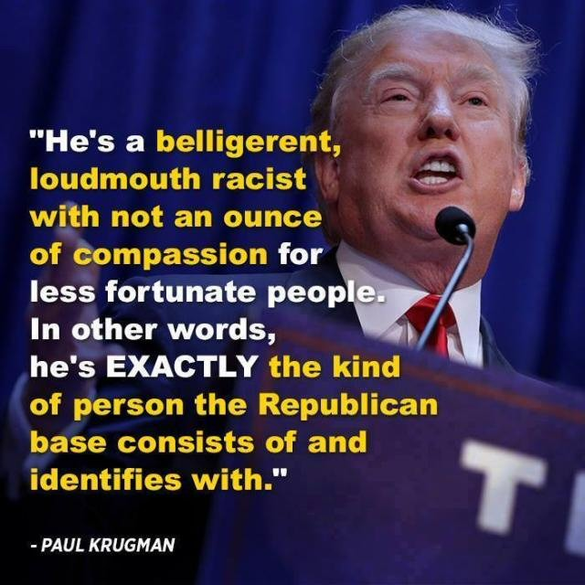 Krugman on Trump