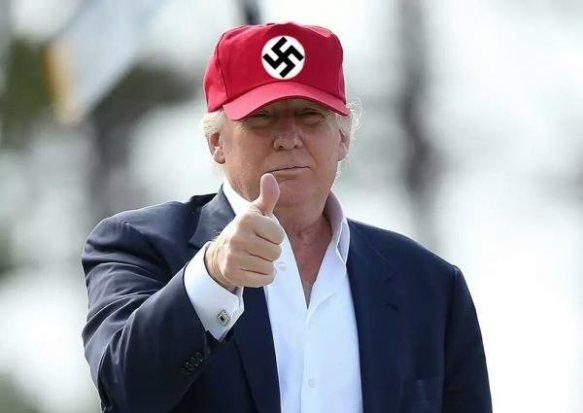 Trump Zieg Heil