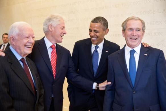 """THERE ARE FOUR PRESIDENTS [laughing]!"""